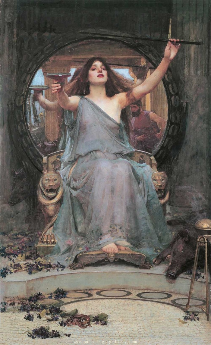 Circe offering the Cup to Ulysses 1